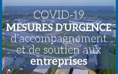 Aide aux entreprises : mesures d'urgence